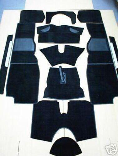 Triumph TR4a  TR5 TR6 /& TR250 /'65-/'76 High Quality Black Carpet Set