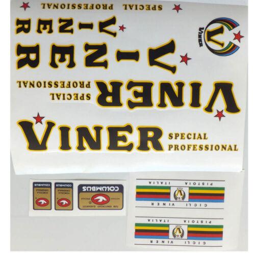 Viner decal set for Campagnolo vintage bike choice