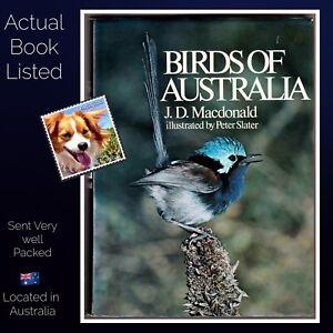 Birds-of-Australia-J-D-MacDonald-Illustrated-by-Peter-Slater-HB-1973-1st-Ed