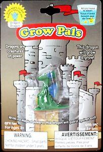 Mini Figure MAGIC GROWING DRAGON Medieval Fantasy Game Thrones Prop Party Favor