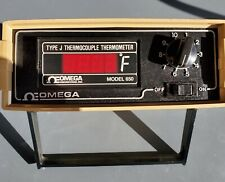 Omega Model 650 Jf Dss Thermocouple Thermometer