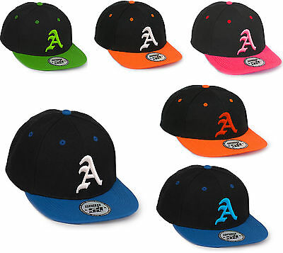 Children School Snap Back Baseball Cap Boy Girl Adjustable Snapback Kids Hat LA