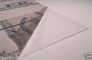 1mm Clear Polycarbonate Lexan Film Plastic Sheet A3 Size 0.25mm 0.50mm 0.75mm
