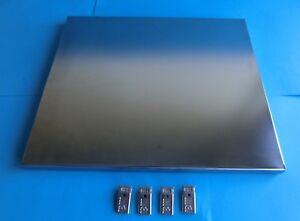 Balton-15000-B-III-Blechboden-46-x-38-cm-chrom-4x-Beschlag-Buero-Regal