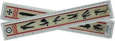 WW1 Aircraft Identification Ruler Plastic World War 1 Childrens School Equipment