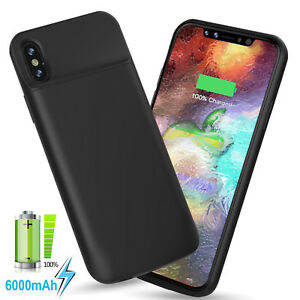 cheap for discount 105cb 9e686 Extended Battery Charger Case for iPhone X [Apple Certified Chip ...