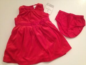 b83a137f695f Carters Baby Girl Dress Wedding Holiday Size 3 6 9 12 18 24 months ...