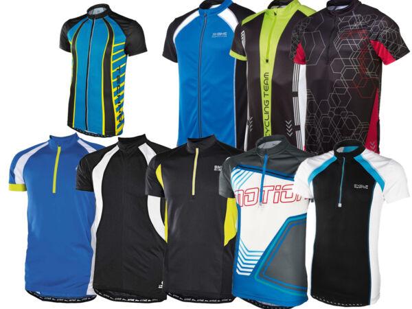 (r15-16) Uomo Maglietta Ciclista Bici Maglia Camicia Funzionale Tasca Posteriore