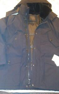 met Sz Color Klein L Midnight Hooded NwtCalvin Fashion capuchon Parka OX0wPn8k