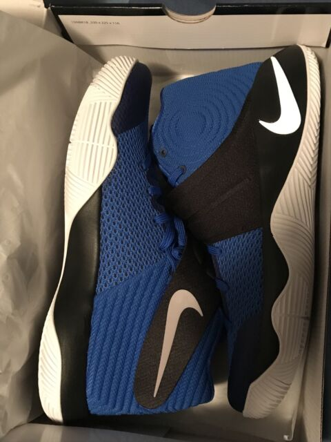 new style 4f448 27ead NIKE Kyrie 2 sz 10 Hyper Cobalt Black Brotherhood Edition Killer Crossover