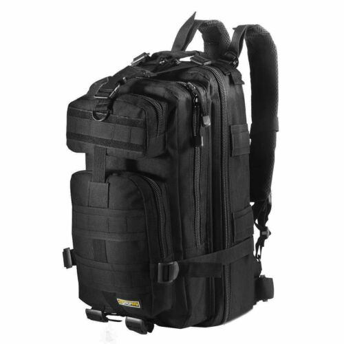 20L Outdoor Neutral Adjustable Military Tactic Backpack Rucksacks Hiking Camping
