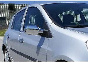 2006-2012 Renault Clio Mk3 Chrome Mirror Cover 2Pieces Stainless Steel