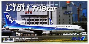 Doyusha 420416 L-1011 TriStar ANA Nippon Airway Triton Blue 1/100 Scale Kit