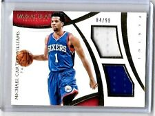 MICHAEL CARTER-WILLIAMS '14-15 PANINI  IMMACULATE DUAL 2CL GAME USED JERSEYS#/99