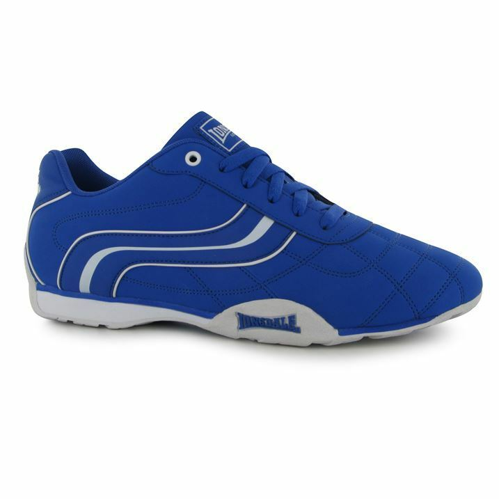 Herren Branded Lonsdale Motif Lace Up Up Lace Camden Trainers Sports Footwear Größe 7-12 213665
