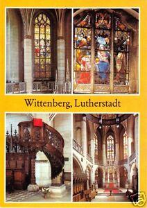 AK-Wittenberg-Lutherstadt-vier-Abb-Schlosskirche-1984