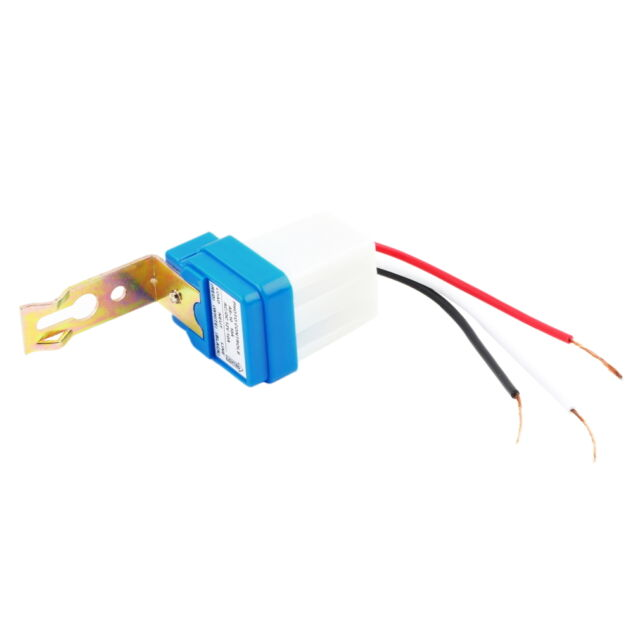 AC DC 12V 10A Auto On Off Photocell Street Light Photoswitch Sensor Switch YW