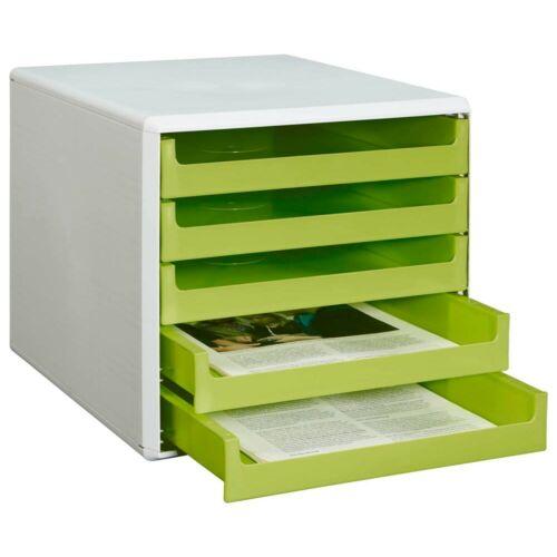 Schubladenbox 5 Schübe Ablagebox Briefablage Ablage Ablagen Ablagesysteme!
