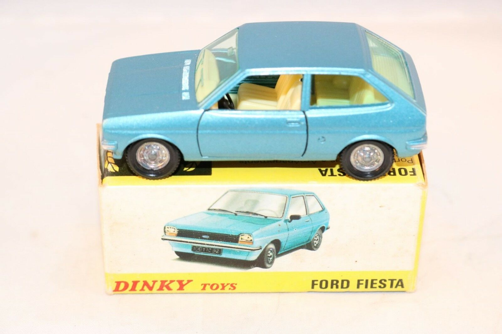 Dinky Toys 011541 Ford Fiesta perfect mint in box superb 2e