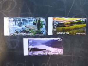 2015-LUXEMBOURG-NATURAL-RESERVES-SET-OF-3-MINT-STAMPS-MNH