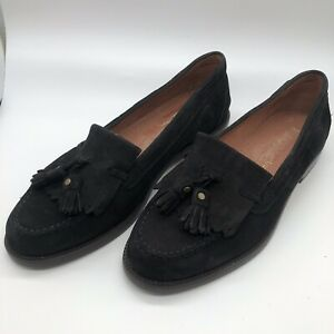 2 Loafers Black Suede Shoes