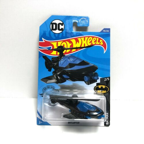 Batcopter 195//250US Case K Hot Wheels2020 Batman