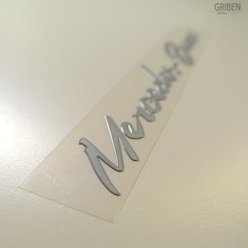 Griben Car Metal Sticker x2 Matte 60059M for Mercedes-Benz /& AMG