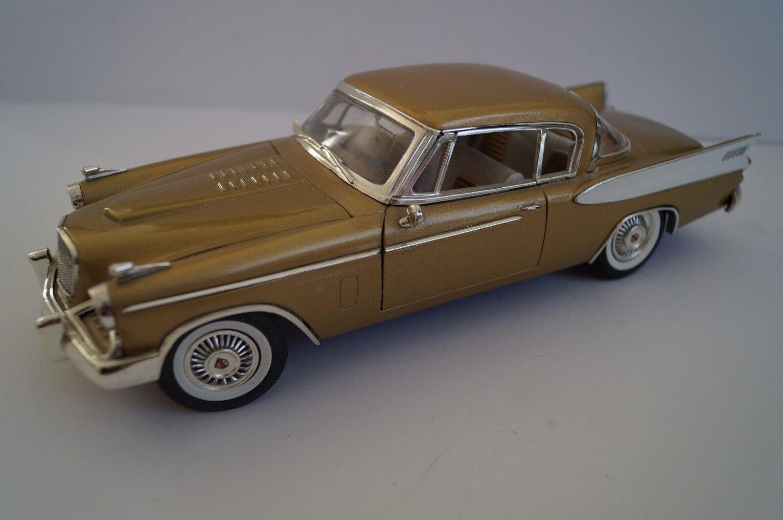 Anson modellololo di auto 1 18 Studebaker oro Hawk 1957