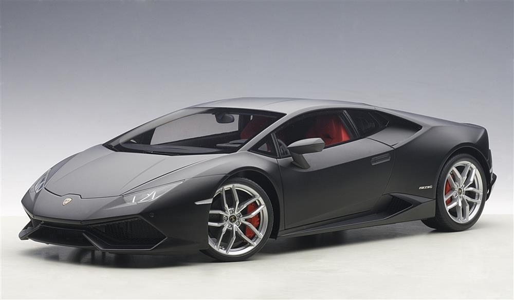 molte sorprese 1 1 1 12 Autoart Lamborghini Huracan Lp610-4 Nero OPACO 2014 (Composite modello   Full  più sconto