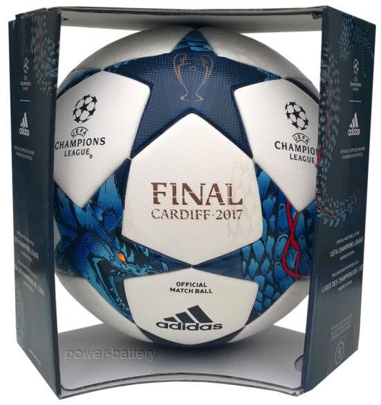ADIDAS FINALE CARDIFF 2017 PROFI MATCHBALL SPIELBALL UEFA CHAMPIONS LEAGUE + BOX