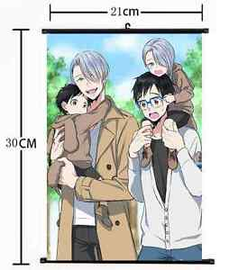 on Ice Nikiforov Victor  Scroll Home Decor cosplay 1068 Anime Yuri!!