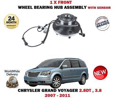 RUOTA Anteriore HUB /& Cuscinetto Chrysler Grand Voyager RT 2008-2012 /& LANCIA VOYAGER