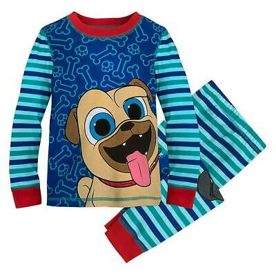 NWT Disney Store Bingo Rolly PJ Pal Pajama Set Boys 3 4 5 6 7 10 Puppy Pals