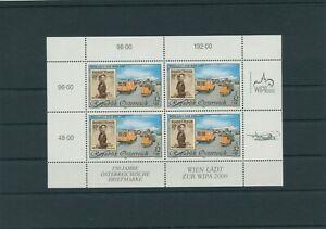 Autriche-Autriche-Vintage-1999-Mi-2292-I-Neuf-MNH-Feuilles-Miniature-Klbg