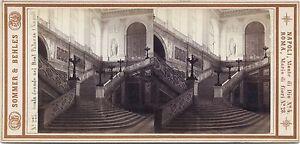 Napoli Italia Foto Sommer Behles Stereo Vintage Albumina Ca 1870