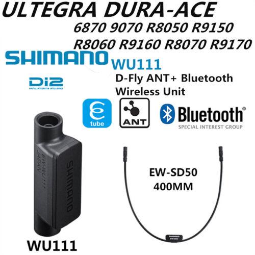 SHIMANO EW WU111 Di2 Wireless Data Transmitter Unit w// EW-SD50 E-Tube 400mm
