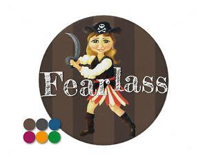 Fearlass-fearless-girl-pirate-pin-badge-7-7cm-diameter-Background-choice