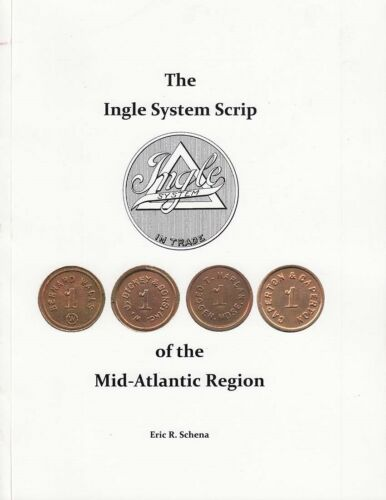 The Ingle System Scrip of the Mid-Atlantic Region Token Book Full Color