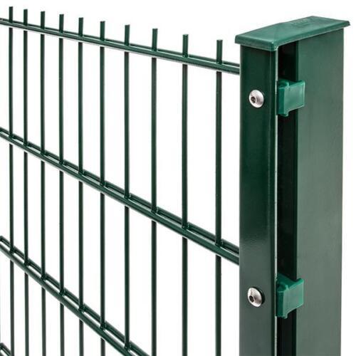 Komplett Set hier versandkostenfrei Zaun Zäune Doppelstabzäune für Zaunprofis