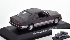 Mercedes-Benz-300-Ce-W124-Purple-Metallic-1991-Diecast-1-43-Minichamps