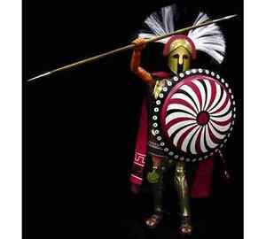 Ignite 1/6 roi d'action Spartan Leonidas Figure 841677000364