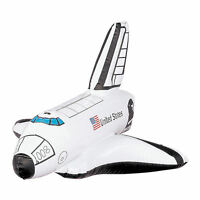 2 Inflatable Space Shuttles Rocket Ship Astronaut Explorers Toy Decorations