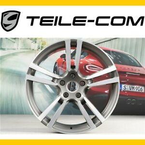 ORIG-Porsche-Cayenne-E2-958-21-034-Felge-034-911-Turbo-Design-034-10J-21-ET50-Alcoa-USA
