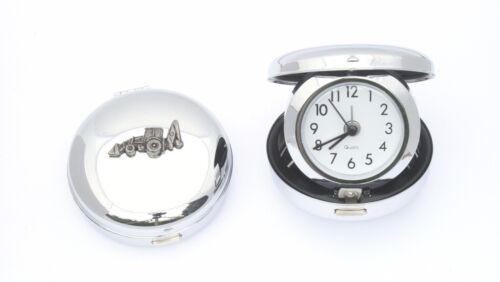 Digger Design Travel Alarm Quartz Clock Groundworker GIft
