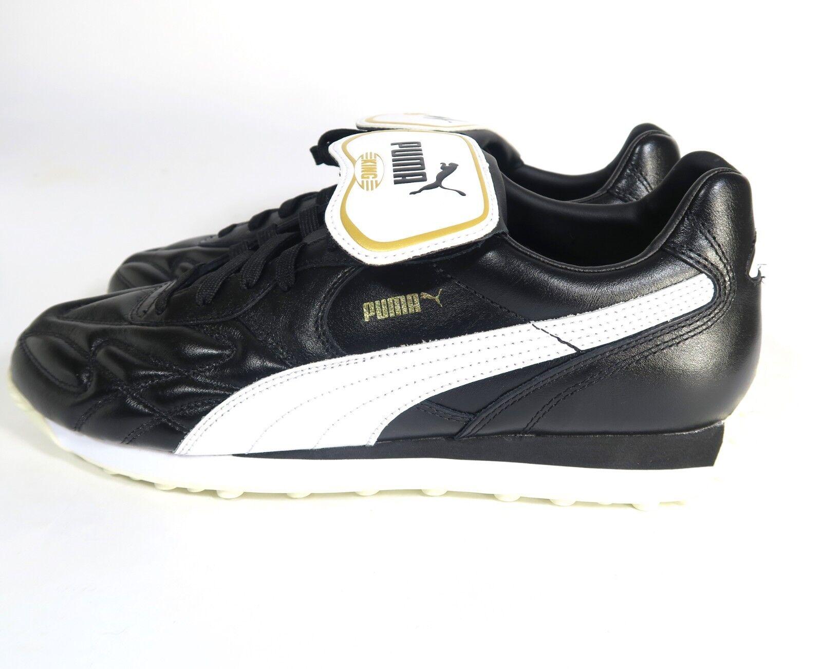 Puma King Avanti Men's shoes Soft Leather Casual 365482-01 Size 10.5