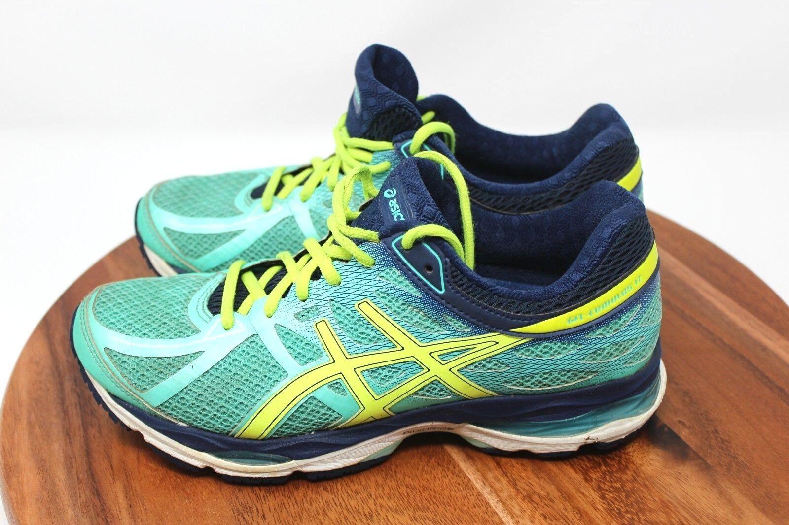 Asics Gel-Cumulus 17 Women's Running shoes Size 8 Teal T5D8N
