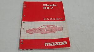 MAZDA RX7 RX-7 BODY SHOP MANUAL BOOK ORIGINAL GENUINE | eBay