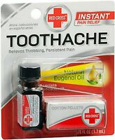 Red Cross Toothache Kit