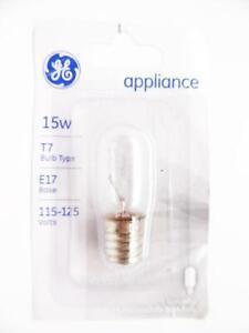 GE Lighting 35153 15T7N Cd Appliance Bulb 15W T7 E17 Base 115-125 Volts