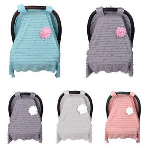 JN-EP-Newborn-Infant-Stroller-Nursing-Lace-Baby-Car-Seat-Canopy-Cover-Sun-Sh